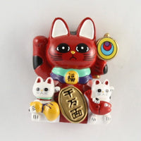 Magnet Lucky Cat Red