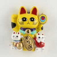 Magnet Lucky Cat Yellow