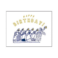 Greeting Life Letterpress Mini Card CB-41