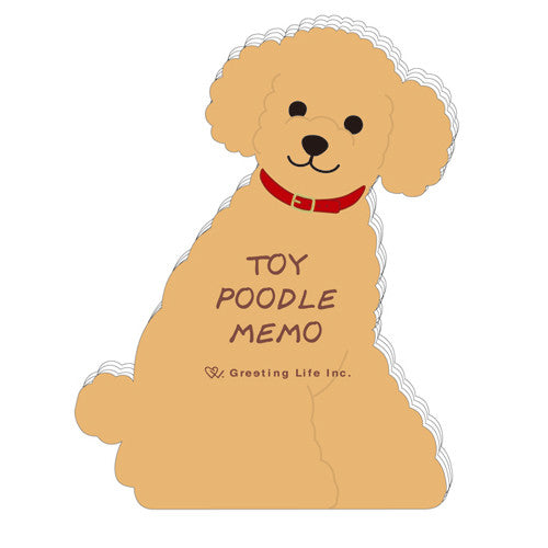 Greeting Life Animal Die Cut Memo ETN-124