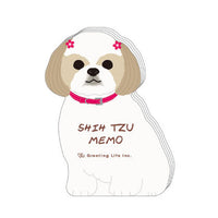 Greeting Life Animal Die Cut Memo ETN-133
