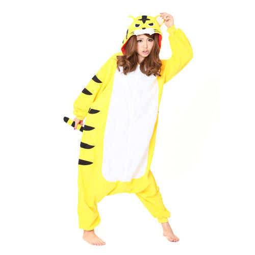 SAZAC Yellow Tiger Kigurumi