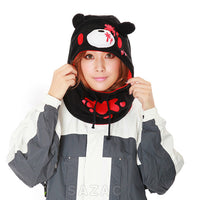 SAZAC Gloomy Bear Black Kigurumi Neck Warmer