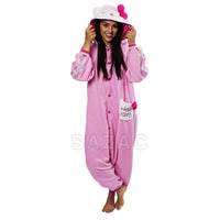 Sazac Hello Kitty Eternal Pink Kigurumi