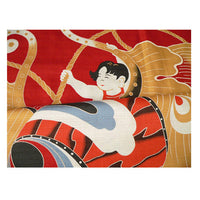 kyoohoo Cotton Furoshiki Large Size The Fortune of a Family