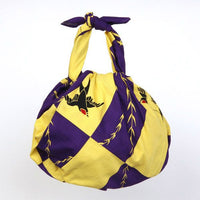 kyoohoo Cotton Furoshiki Swallow Purple