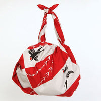 kyoohoo Cotton Furoshiki Swallow Red