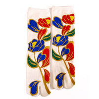 Tabi Socks Deco Flower/M
