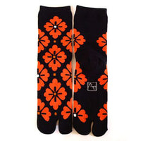 Tabi Socks Square Flower kyoohoo
