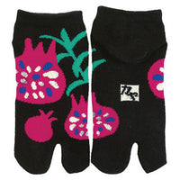 Tabi Socks Short type Pomegranate kyoohoo
