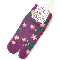 Tabi Socks Short type Weeping Cherry Tree kyoohoo
