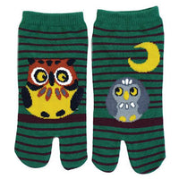Tabi Socks Short type Owl/M