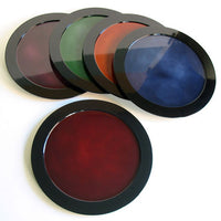 Kyoohoo Lacquer Ware Plate Kasumi Red