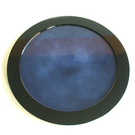 Kyoohoo Lacquer Ware Plate Kasumi Blue