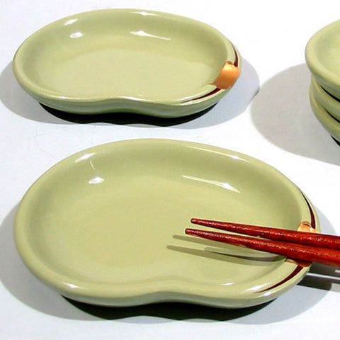 Kyoohoo Lacquer Ware Chopstick Rest Dish Beans