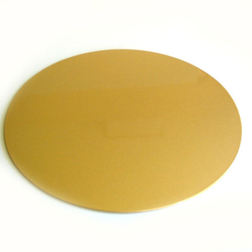 Kyoohoo Lacquer Ware Oval Mat Gold