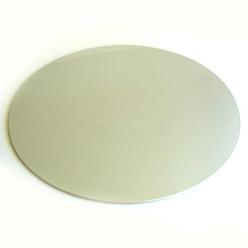 Kyoohoo Lacquer Ware Oval Mat Silver