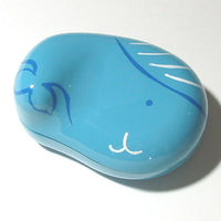 Kyoohoo Lacquer Ware Lucky Color Case Blue Whale