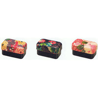 Kyoohoo Lacquer Ware Kaku Lunch Box Yuzen Rose