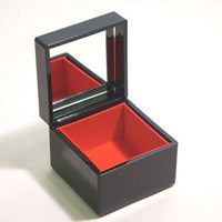 Kyoohoo Lacquer Ware Earring Box Cherry Blossoms