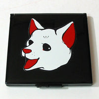 Kyoohoo Lacquer Ware Pocket Mirror Dog