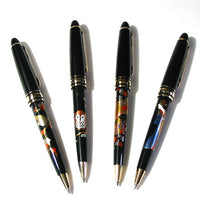 Kyoohoo Lacquer Ware Makie Ball Point Pen Owl