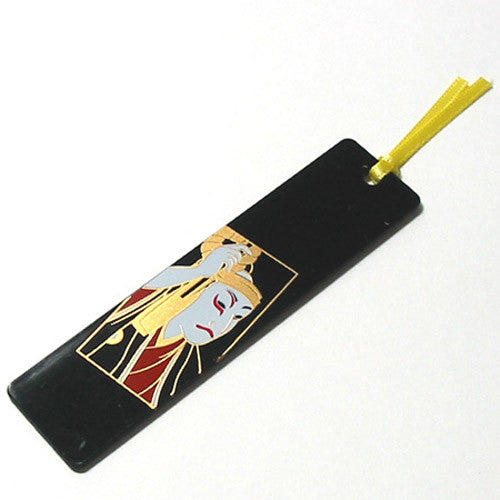 Kyoohoo Lacquer Ware Makie Bookmarker Kabuki
