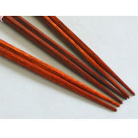 Kyoohoo Lacquer Ware Chop Sticks stripe With Gold Red