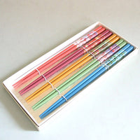 Kyoohoo Lacquer Ware Chopsticks 5pcs Seasons