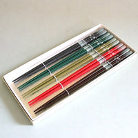 Kyoohoo Lacquer Ware Chopsticks 5pcs Japan
