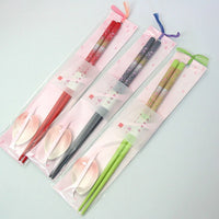 Kyoohoo Lacquer Ware Chopsticks & Rest Set Sakura 6sets
