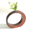 Kyoohoo Lacquer Ware Flower Vase Moon (M)