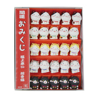 Omikuji Lucky cat set K12-3600C