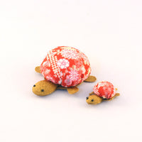 Chirimen Family Turtle Red