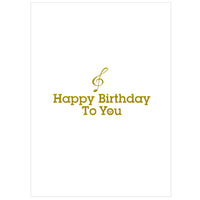 Tegami Paper Mechanics Greeting Card Happy Birthday Day To You