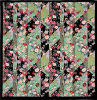 kyoohoo Cotton Furoshiki Large Size Flowers