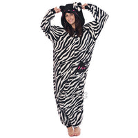 SAZAC Hello Kitty Zebra Black Kigurumi