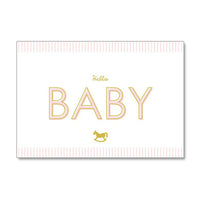 Greeting Life Baby Card MM-115