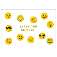 Greeting Life Thank you Card Face MM-248