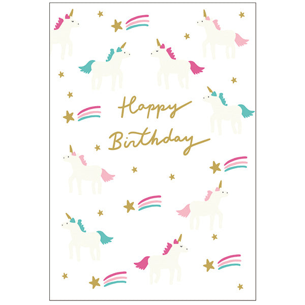 Greeting Life Birthday Press Card Chic MM-295
