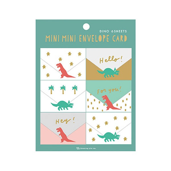 Greeting Life Mini Mini Envelope Card MM-319