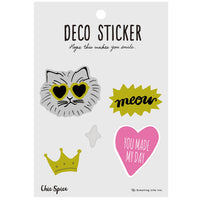 Greeting Life Deco Stickers Chic MMCK-172