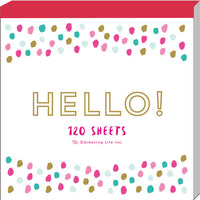 Greeting Life Square Memo Chic MMN-154