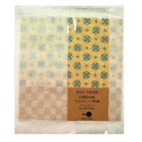 Jolie Poche Wax Paper Origami with Damier Bag ORK-01BG