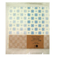 Jolie Poche Wax Paper Origami with Damier Bag ORK-01WH