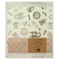 Jolie Poche Wax Paper Origami with Damier Bag ORL-01WH
