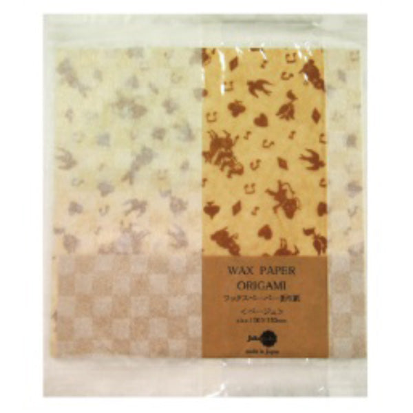 Jolie Poche Wax Paper Origami with Damier Bag ORW-01BG