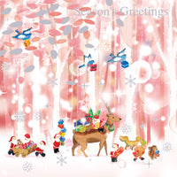 Greeting Life Christmas Card P-239