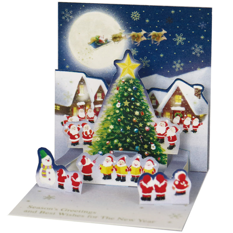 Greeting Life Christmas Card P-245