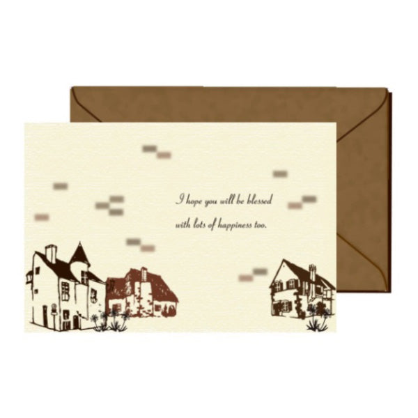 Jolie Poche Greeting Card PST-04